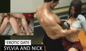 Erotic Date: Sylvia and Nick