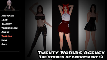 Twenty Worlds Agency - The Stories of Department 13 - Version 0.3.5
