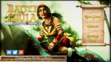 Battle for Luvia: Armored Romance - Version 0.13p1.Xc