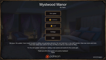 Download Mystwood Manor - Version 0.4.4 Full