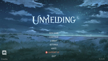 Unyielding - Version 0.3.2