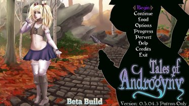 Tales Of Androgyny - Version 0.3.08.1